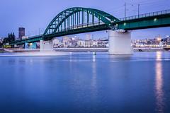 Green bridge (radomir_bojic) Tags: green long exposure most tramvajski