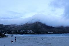 Softly, softly... (Michele's POV) Tags: sunset sea mountain seascape clouds skyscape twilight sleep ominous sombre bedtime deserted encroaching comfortblanket whitecottonblanket beachemptying villageunderthemountainundertheblanket