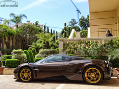 The Huayra ! (G-E Supercars) Tags: cars sport hotel automobile shoot voiture monaco shooting carlo monte gt paysage luxury luxe zonda metropole supercars pagani huayra hypercars