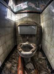 Toilet (D-W-J-S) Tags: broken neglect hospital fife toilet fisheye tokina strathmore derelict hdr fever 1017mm fractalius