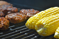 Christmas Corn (MTSOfan) Tags: food fun picnic bbq grill burgers barbecue brads christmasinmay
