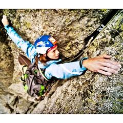 ARaceli Segarra climbing Pirineu (aracelisegarra) Tags: seleccionar aracelisegarra alpinismo alpinist escaladora escalda climbing model