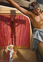 cross veil (pastorberny_gamofnj) Tags: temple veil cross jesus priest crucifixion rh jesusclosingscenes