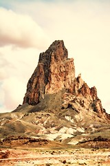 UP CLOSE AND FRIENDLY (Irene2727) Tags: newmexico nature rock landscape o peak 100 scape 60 shiprock sacredrock