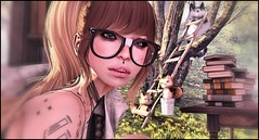 MyHappyPlaceOfPeace2 (shirley Uborstein) Tags: life cute nerd fashion female outdoors blog yummy dorky mort suicide peaceful books scene mandala sl kawaii second glam tres gurls chic angelica affair petite enchanted taketomi dollz amitie epoch arise evani since1975 izzies collabor88 randommatter {lovefox}