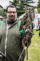 Ed & Owl 2 (Arthur Brown PHOTOGRAPHY) Tags: leicestershire canon1740mmf4l meltonmowbray canon5ds meltonshow2016