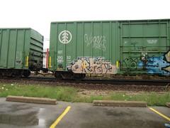 09-01-10 (5) (This Guy...) Tags: road railroad car train graffiti box graf rail rr traincar boxcar graff 2010