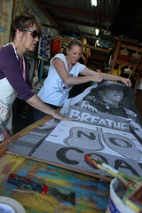IMG_3364.web (rawEarth) Tags: wheatpaste photography brookeanderson photographer facesofcoalresistance signs protestsigns nocoal climatechange coaldust healthycommunities oaklandca