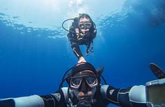 Buddy system (KnyazevDA) Tags: travel sea redsea wheelchair egypt scuba diving disabled diver padi undersea handicapped paraplegic disability aowd owd paraplegia