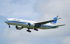 9K-AOA B777 269ER Kuwait Airways (corrydave) Tags: 28743 b777 b777200 kuwait shannon 9kaoa