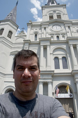 Self Portrait (tacosnachosburritos) Tags: crescent city urban gritty stlouiscathedral jacksonsquare tourist neworleans bigeasy humanity square