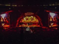AC/DC Stadium Tour (theGR0WLER) Tags: acdc rock rockorbusttour etihadstadium manchester canon canonpowershotsx50hs angus angusyoung guitar
