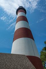 Assateague Lighthouse (Hunt Conard) Tags: building historic lighthouse structure