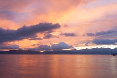 Sunrise (schatanay) Tags: france canon lac evian paysage lman fr eos350d hautesavoie rhonealpes vianlesbains ef2470mmf28liiusm auvergnerhnealpes