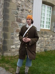 Fortress Louisbourg Nova Scotia  Servant re-enactor (MisterQque) Tags: novascotia fortresslouisbourg frenchcolony