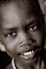 Anuak Boy (Rod Waddington) Tags: africa boy portrait people male monochrome face mono beads child african refugee traditional tribal afrika ethiopia tribe ethnic ethnicity afrique ethiopian thiopien etiopia ethiopie etiopian anuak unhc
