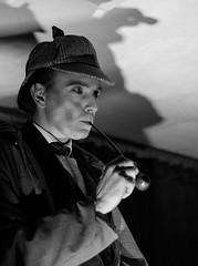 The Detective (Mike Daish Photography) Tags: show southampton holmes sherlock arthouse