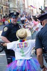 Cop Hug, Pride Parade, NYC 2016 (Fusco Industries) Tags: street new york city nyc newyorkcity gay woman man never men lesbian mom march inn hug dad brother christopher free nypd son pride parade ave stonewall hugs gaypride trans 5th forget lbgt sisther lbgtq