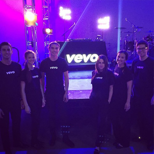 Cool event tonight for Vevo! #hollywood #events #music #eventlife #staffing #girlboss #bartenders #servers #200ProofLA #200Proof