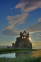 Whitby Abbey before sunset. (paul downing) Tags: sunset summer abbey nikon whitby 12 filters hitech gnd pd1001 pauldowning d7200 pauldowningphotography