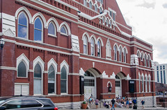 Ryman Auditorium, Once the Home of the Grand Ole Opry (in explore) (frank thompson photos) Tags: church architecture bluegrass tennessee tourists countrymusic grandoleopry concerthall nashvilletn uniongospeltabernacle