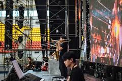 Brass section (Randy Wei) Tags: music musicians concert live performance fujifilm speedmaster zhongyi xe1 mitakon