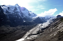 gletscherzunge (michael pollak) Tags: grosglockner hochalpenstrasse alpen alps österreich anreisetag familienausflug glocknergruppe pasterze gletscher
