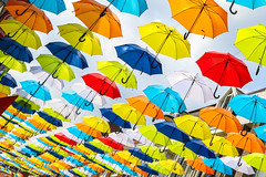 Umbrellas (_becaro_) Tags: berend becaro stettler umbrella umbrellas colors schirm schirme passage oosterhout nederland netherland holland einkaufspassage