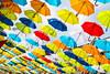 Umbrellas (_becaro_) Tags: berend becaro stettler umbrella umbrellas colors schirm schirme passage oosterhout nederland netherland holland einkaufspassage