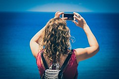 (Mickey Katz) Tags: ocean travel blue sea vacation woman beautiful beauty photo amazing europe view awesome culture cellphone dramatic cell tourist photograph moment breathtaking photographing iphone bestshot supershot flickrsbest amazingphoto abigfave anawesomeshot artistsoftheyear overtheexcellence flickrlovers breathtakinggoldaward
