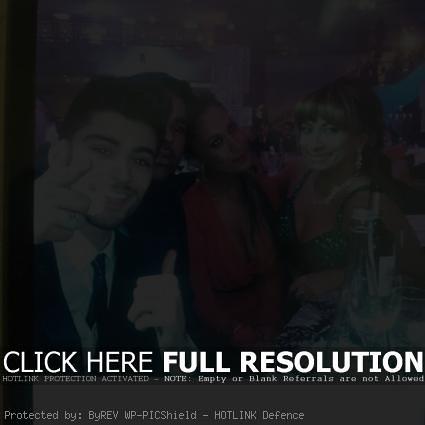 Zayn Malik shaved at the Asian Awards