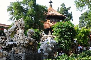 A Chinese Garden.