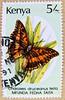 great stamp Kenya 5.00 Sh (Silver-barred Emperor, Charaxes druceanus teita [van Someren], butterfly, vlinder, Schmetterling, papillon, 蝴蝶, sommerfugl, liblikas, бабочка, perhonen, mariposa, pillangó, kelebek, πεταλούδα, farfalla, तितली, 蝶, borboleta 5Sh (stampolina, thx! :)) Tags: africa butterfly postes kenya stamps stamp papillon borboleta afrika mariposa timbre kenia postage shilling farfalla sommerfugl schmetterling vlinder 蝴蝶 perhonen selo marka bolli sello sellos kelebek 蝶 postagestamps briefmarken pulu briefmarke motyl бабочка 邮票 francobollo selos 나비 πεταλούδα pillangó timbres timbreposte francobolli bollo зелёный liblikas timbresposte leptir motýľ quênia марка timbru tauriņš तितली почтовыемарки postapulu डाकटिकटों perangkoperangko silverbarredemperor charaxesdruceanusteita