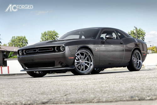 2015 dodge challengers rt scatback 6 4 on 22 ac forged 312 wheels a photo on flickriver flickriver