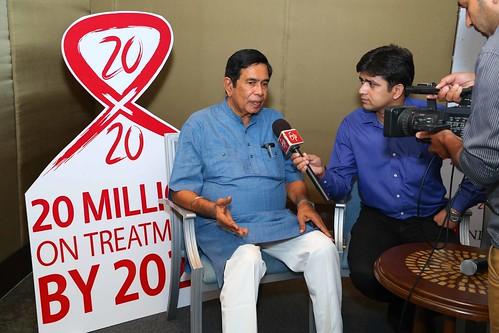 AHF India Cares/Kings XI Punjab 20x20 Press Conference