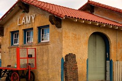 Lamy Train Station (diannlroy.com) Tags: newmexico trains amtrak transportation depot lamy