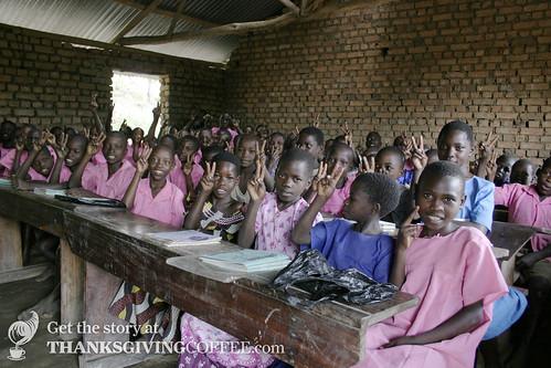 Ugandan Schoolchildren