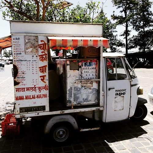 Indian Ice Cream Van #India #travel #ttot