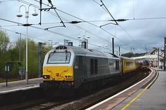 67012 Skipton (Shunter man) Tags: nikon skip skipton northernrail networkrail ashropshirelad class67 67012 testtrain dbschenker 333016 chilternlivery shuntermanpictures 35mmprimef18g
