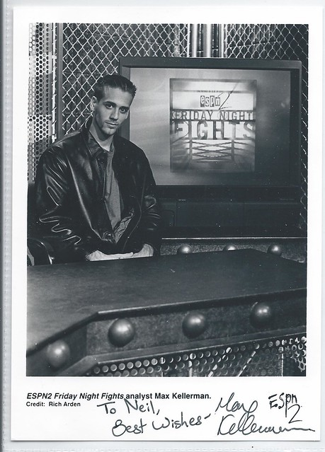 117409489  U. S. Jewish Friday Night Fights Analyst MAX KELLERMAN