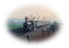 6998 (R~P~M) Tags: uk greatbritain england train unitedkingdom railway steam locomotive oxfordshire radley oxon greatwestern