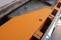 IMG_8122 - Port Townsend WA - Shipyard - Shipwright's Co-Op - MV RIPTIDE - starboard side - shelf repair showeing forward nib (BlackShoe1) Tags: washington olympicpeninsula shelf wash frame porttownsend pacificnorthwest wa pugetsound framing washingtonstate plank nib riptide 1927 cya planking jeffersoncounty portorfordcedar cabincruiser porttownsendwa schertzer victorianseaport classicyachtassociation eastjeffersoncounty bridgedeckcruiser porttownsendshipwrightscoop shipwrightscoop mvriptide raiseddeckcruiser schertzerboatandmachinecompany
