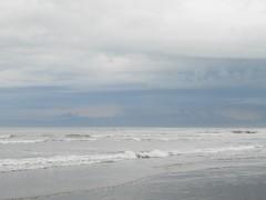 Mar Argentino (Jorgelina Dromedari) Tags: costa argentina mar buenosaires cielo verano olas vacaciones oceano atlantico sanbernardo veraneo tormentaatlantica