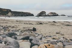 Sand Dollar Beach (HenriqueScherer) Tags: ocean california road sunset cliff nature water birds canon coast highwayone unitedstates bigsur roadtrip pelican highway1 shore dslr goldenhour filmlook canon60d vsco canoneos60d eos60d californiasaver42 datetaken23