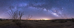 Camping under the Milky Way in the Anza-Borrego Desert (slworking2) Tags: california camping desert trailer anzaborrego rv camper milkyway anzaborregodesertstatepark