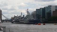 HMS Belfast big buoys (sarflondondunc) Tags: towerbridge londonbridge hmsbelfast artemis buoys riverthames southwark