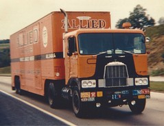 G-model Mack, Allied (PAcarhauler) Tags: tractor truck semi trailer mack coe cabover
