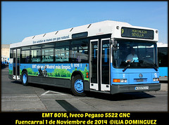 idnb1445-EMT8016 (ribot85) Tags: bus coach crt consorcio autobus emt iveco gnc pegaso patera autobuses fuencarral 5522 8016 crtm emtmadrid pegaso5522 emt8016 pegasognc pegasognc5522