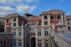 Palazzo Real balcony 3 (PhillMono) Tags: travel italy art heritage history architecture real nikon royal palace tourist genoa dslr palazzo renaissance d7100