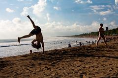 Bali, Kuta beach, stunts on the beach (marco_vannozzi) Tags: bali kuta stunts kutabeach